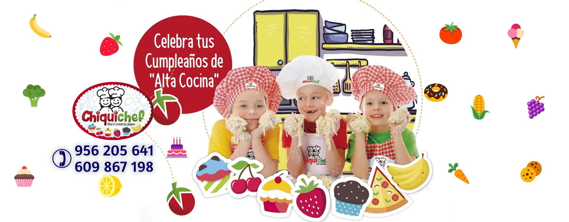 """Celebra tus cumpleaños de """"Alta Cocina"""" en Chiquichef"""